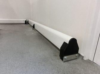 Barriera antiurto sfilabile