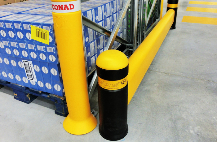 nodamage barriera antiurto scaffalatura